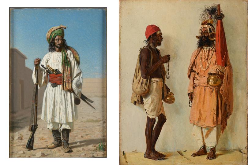 Афганец. 1867-1868 Два факира. 1874-1876