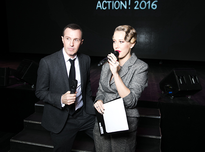 Хорошие новости: благотворительный вечер Action!2016. Игорь Верник и Ксения Собчак