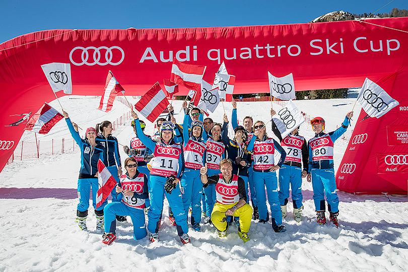 Вставай налыжи: старт нового сезона гонок Audi quattro Ski Cup