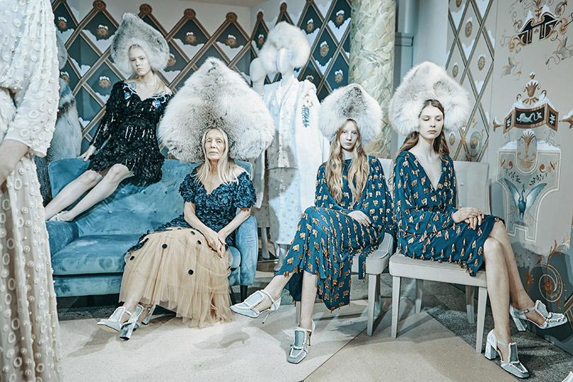 Театрализованная презентация осенне-зимней коллекции Alena Akhmadullina помотивам «Снежной королевы»