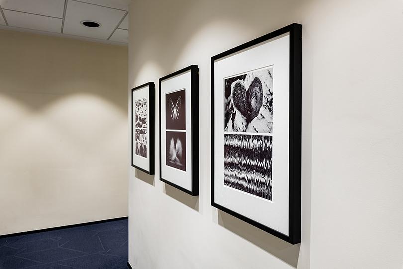 Работы Евгения Миронова из серии «Построение метафоры (2018 г.), коллекция Credit Suisse