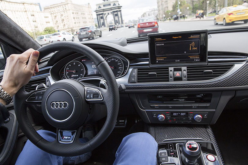 Cars with Jan Coomans. Audi RS6