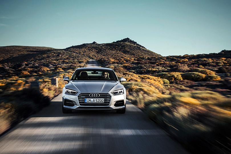 Весне дорогу: пять причин выбрать Audi A5Coupé