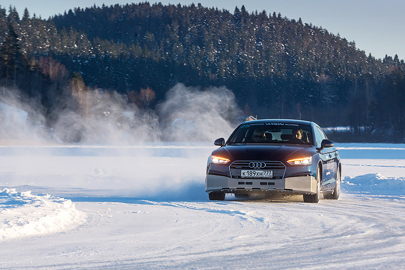 Cars with Jan Coomans. Minus 25 degrees, a frozen lake, a Russian rally legend and Audi Quattro