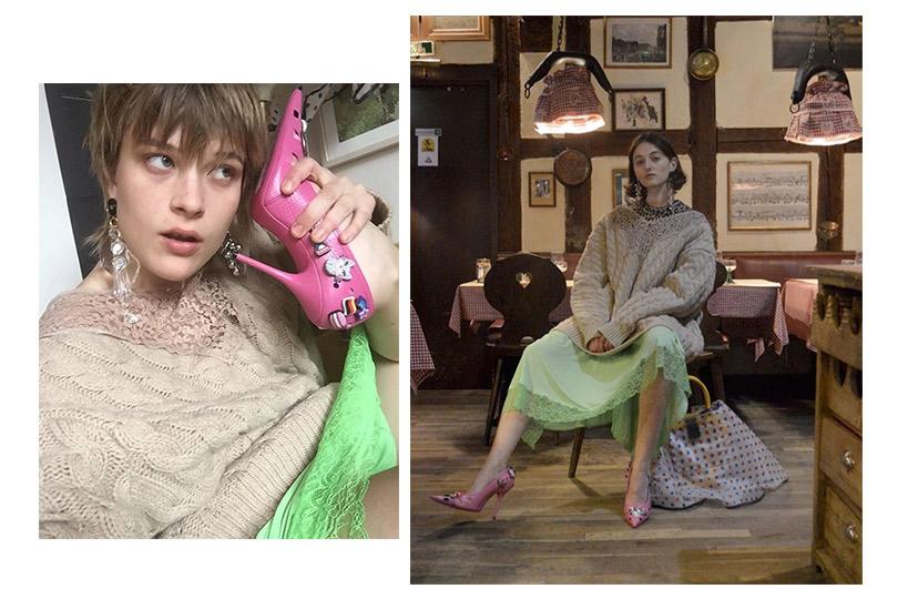 Shoes &Bags Blog: кроксы нашпильке— новая версия ugly shoes отBalenciaga