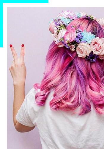 Попробуйте новые оттенки красителей Colorful Hair отL'Oréal Professionnel