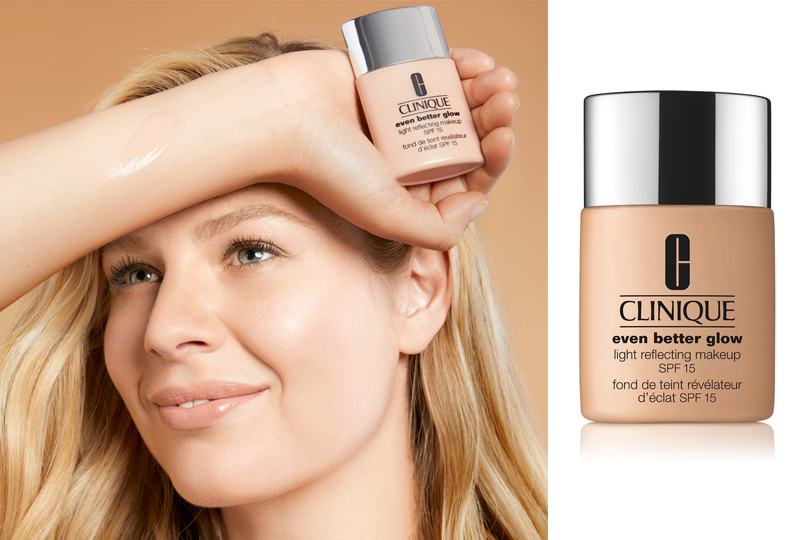 Clinique  Тональный крем Even Better Glow Light Reflecting Makeup SPF 15