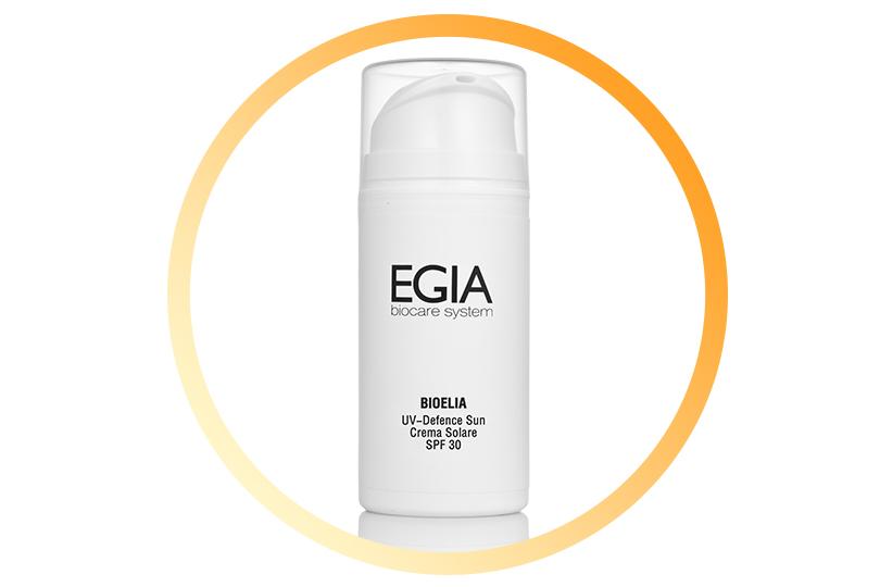 Увлажняющий солнцезащитный крем UV-Defence Sun SPF 30, Egia