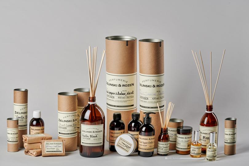 В России стали продаваться свечи, диффузоры и ароматы Zielinski & Rozen