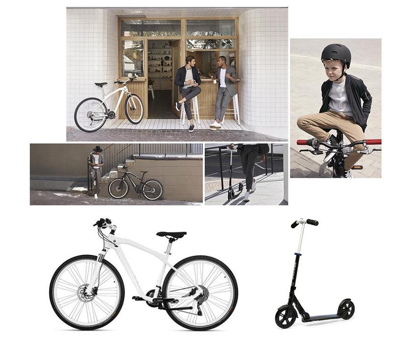 Велосипеды, самокаты и другие безмоторные средства передвижения от BMW