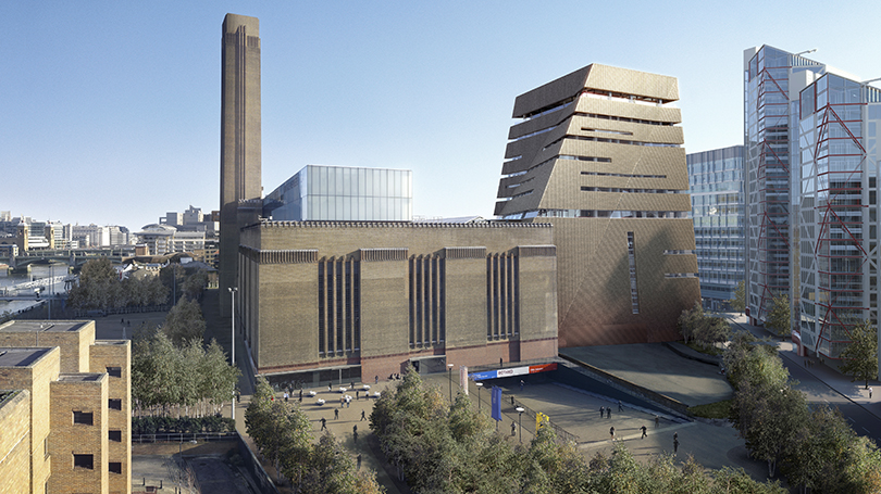 Галерея Тейт Модерн назвала новое здание вчесть владельца Warner Music Group Леонарда Блаватника