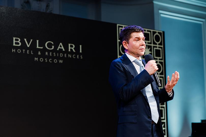 Музыкальный вечер с Хиблой Герзмава в честь запуска проекта «Резиденции BVLGARI в Москве». Алексей Богачев
