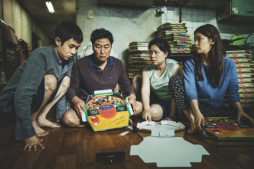 «Кадр из фильма «Паразиты» режиссера Пон Джун Хо