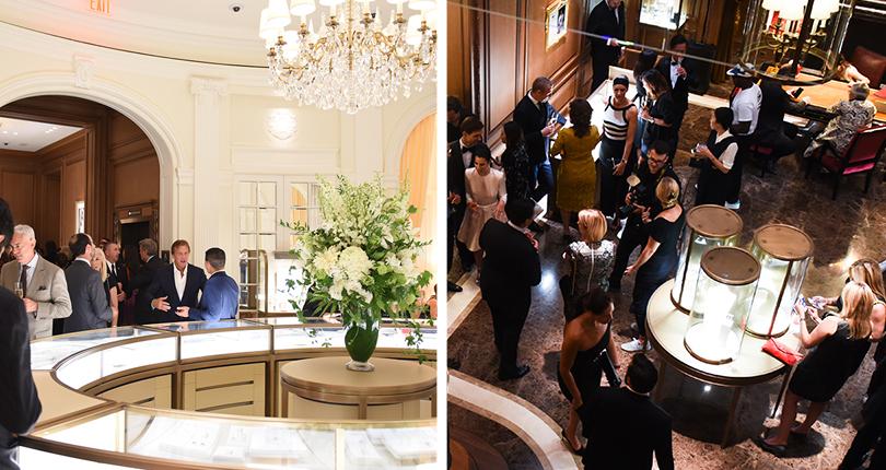 Светская хроника: открытие флагманского бутика Cartier в центре Манхэттена