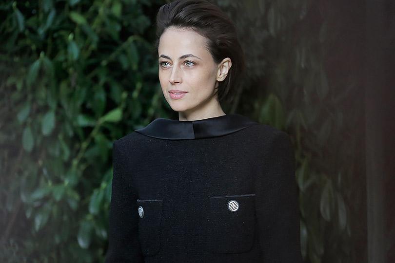 Гости кутюрного показа Chanel вGrand Palais. Анна Берест