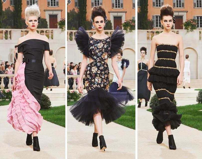 Шоу Chanel в Гран-Пале: итальянская вилла в Париже и овации в отсутствие Лагерфельда