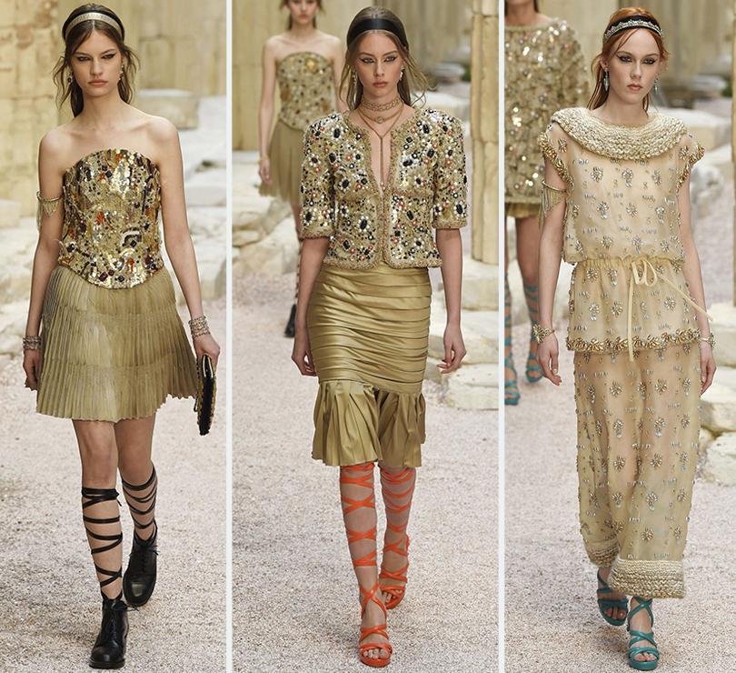 Мифы Древней Греции: показ круизной коллекции Chanel