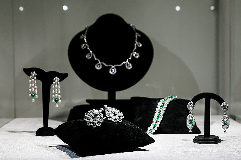 Закрытый показ ювелирных украшений Christie's