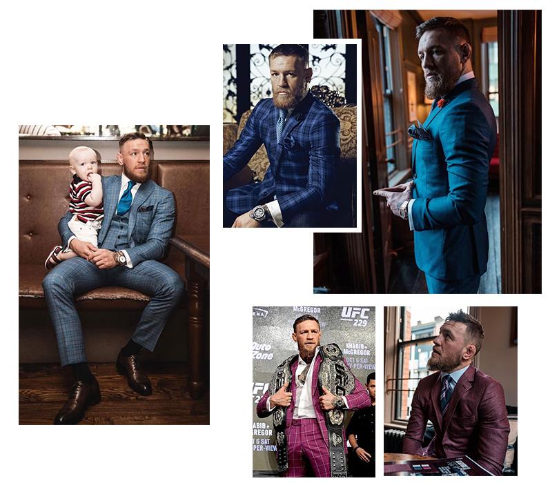 Конор Макгрегор выходит «на пенсию»: разбираем стиль самого модного ирландца. Костюмы