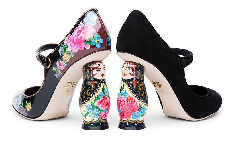 Shoes &Bags Blog: эксклюзивная коллекция «Матрешка» отDolce &Gabbana