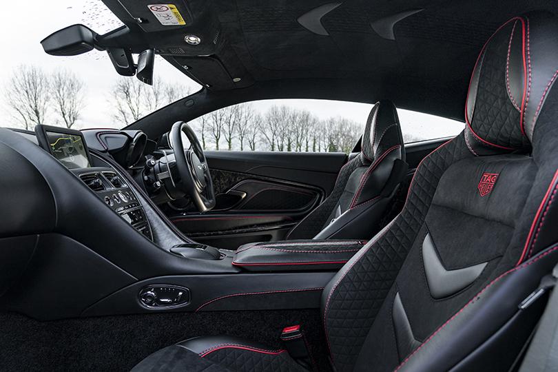 Aston Martin DBS Superleggera TAG Heuer Edition — всего 50 спорткаров в цвете Monaco Black
