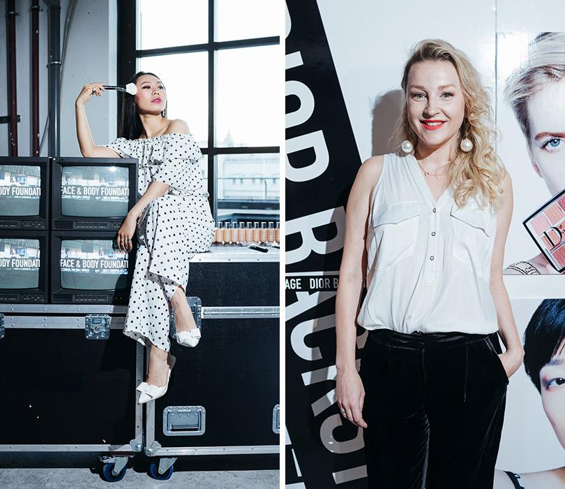 Презентация коллекции профессионального макияжа Dior Backstage Line. Ян Гэ. Ольга Медынич