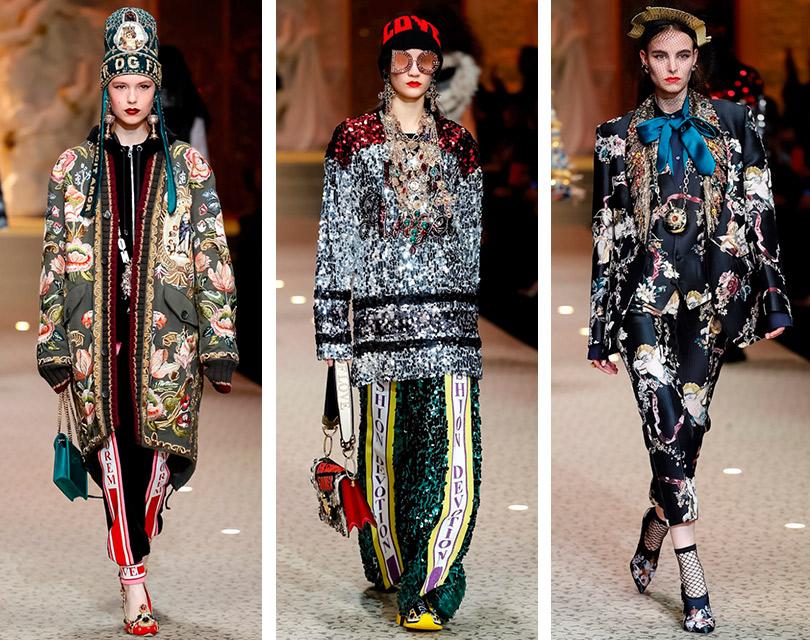 «Служение моде» Dolce &Gabbana иностальгическое шоу Versace: самое интересное сНедели моды вМилане