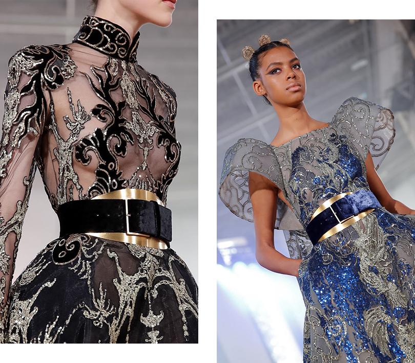 Азиатские мотивы в коллекции Elie Saab Couture