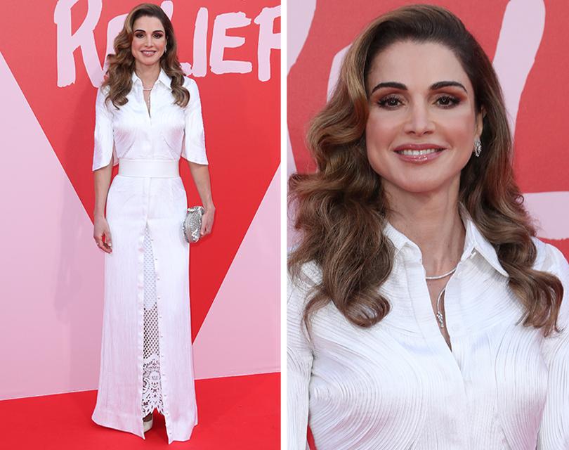 Канны-2017: благотворительный показ Fashion for Relief. Королева Иордании Рания