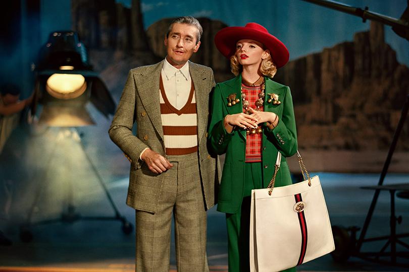 Шоу начинается! Рекламная кампания Gucci Spring 2019 по мотивам голливудской классики 1940-х и 1950-х годов