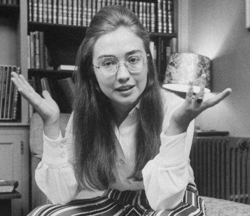 Хиллари Клинтон в студенческие годы