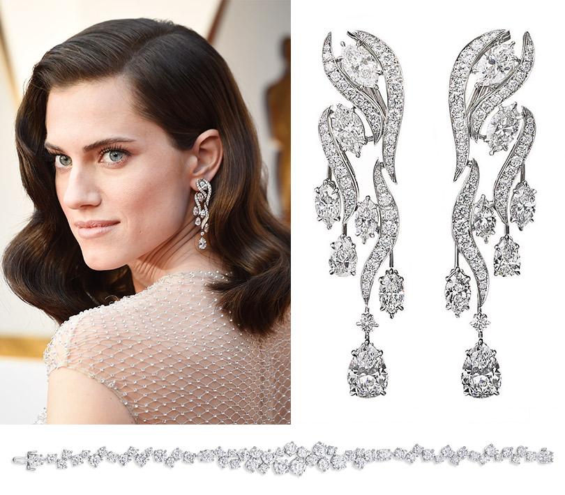 Часы &Караты: роскошные украшения церемонии «Оскар». Эллисон Уильямс