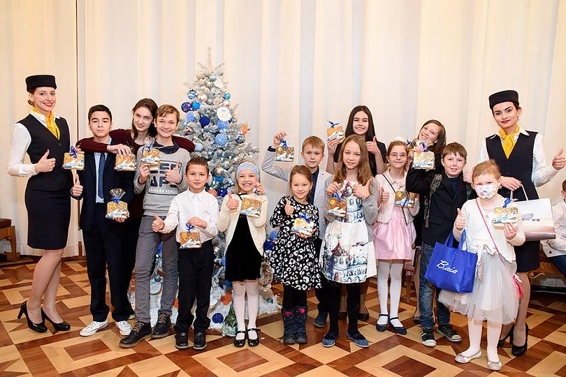 Posta Kids Club: благотворительный праздник Lufthansa вБольшом театре