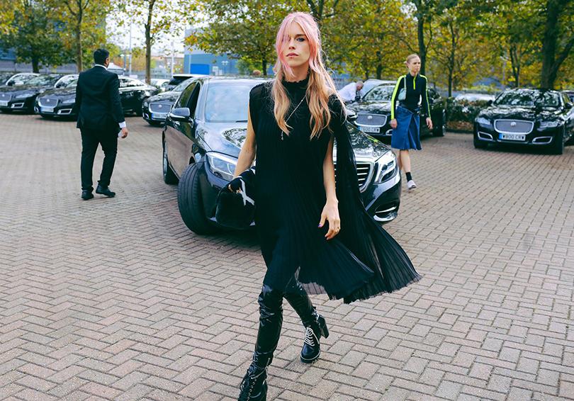 Street Style: лучшие образы на Неделе моды в Лондоне. Леди Мэри Чартерис