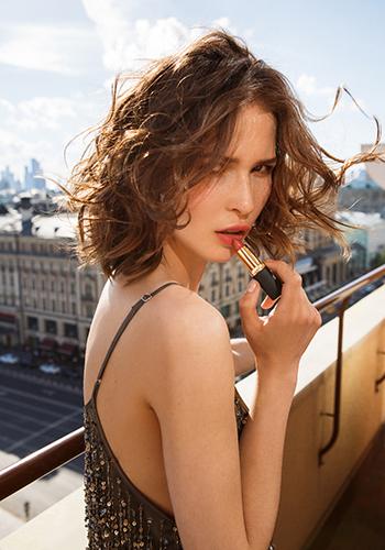 Тест помады L'Oréal Matte Addiction: Лукерья Ильяшенко