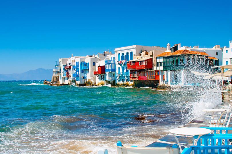 #postatravelnotes Куда поехать осенью? Сентябрь на Миконосе