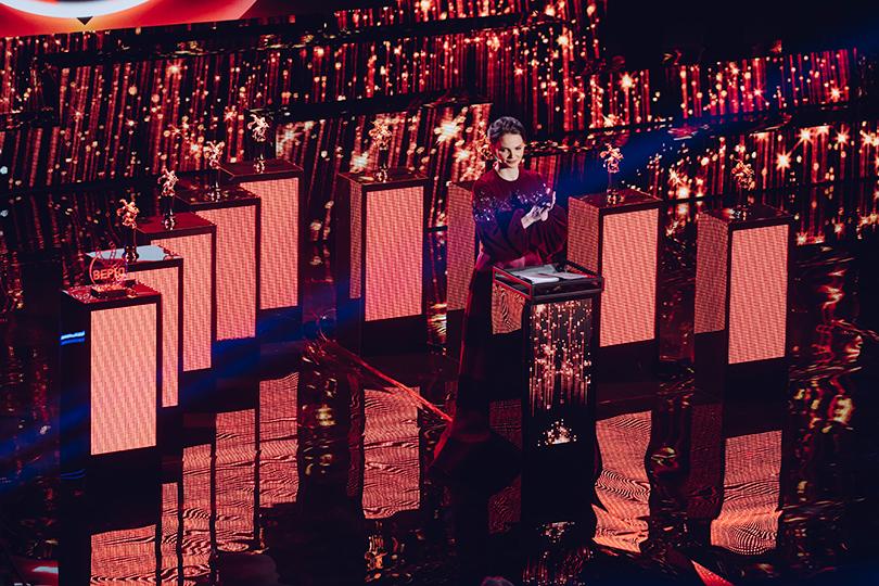 Церемония открытия 41-го Международного московского кинофестиваля. Елизавета Боярская