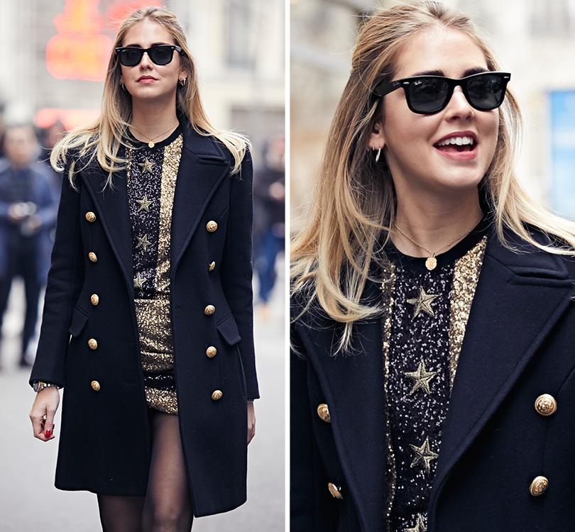 Street Style: эксклюзивные фотографии стретьего дня Недели Haute Couture вПариже вобъективе ИноКо. Кьяра Ферраньи
