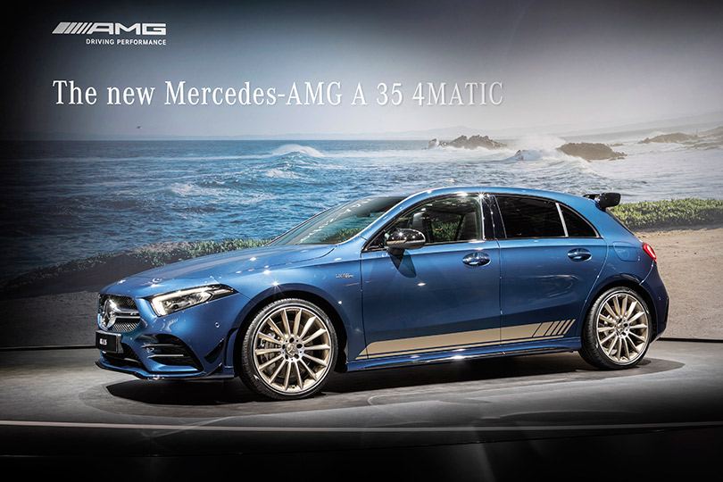 Anew baby Mercedes-Benz AMG— the A35