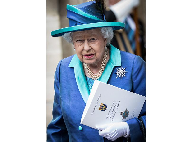 Все в сборе: британские монархи на службе, посвященной 100-летию Королевских военно-воздушных сил