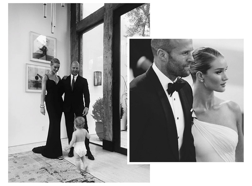 Пара недели: Рози Хантингтон-Уайтли иДжейсон Стэтхэм решили пожениться (идаже назвали дату свадьбы)
