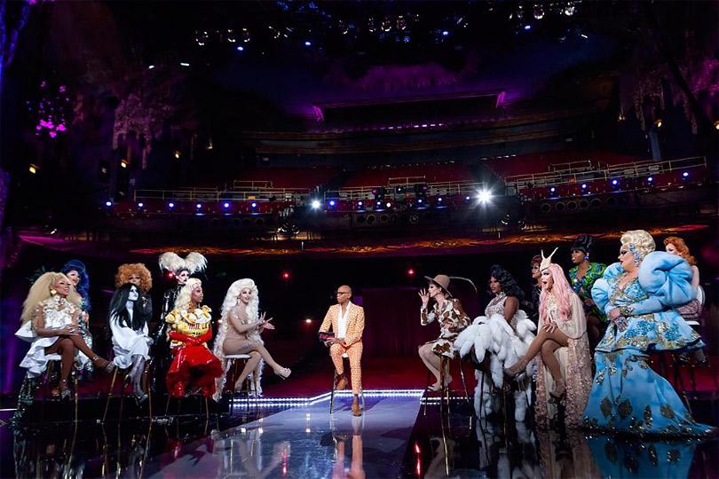 Платья, каблуки икульт работы над собой: как шоу RuPaul's Drag Race стало одним изфаворитов премии «Эмми»