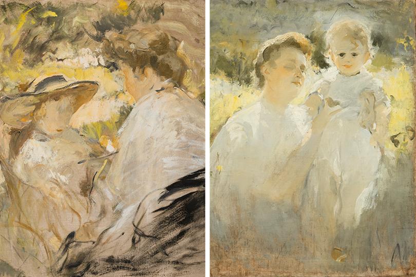 Михаил Шемякин: Мать и дитя. 1900-е; Материнство. 1907