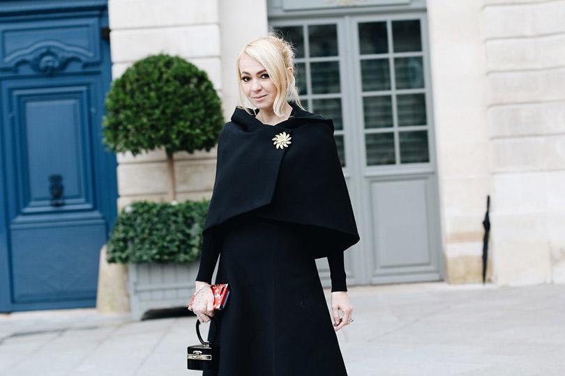 Street Style: лучшие образы уличной моды сParis Couture осень-зима— 2018. Яна Рудковская