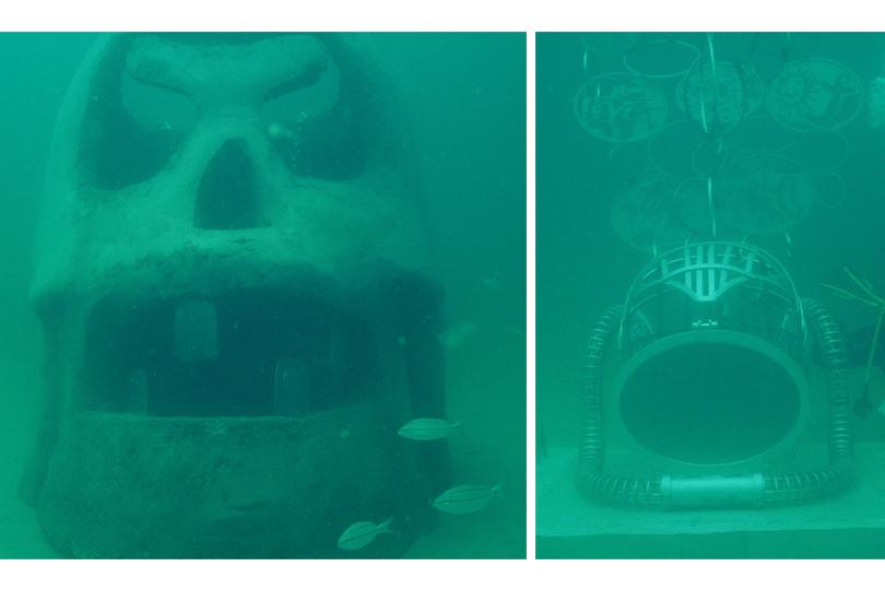 Затопленное искусство: вСША появился подводный музей скульптуры