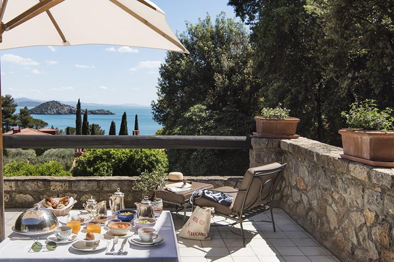 Кто рано встает: выбираем завтрак в отелях The Leading Hotels of the World. Hotel IlPellicano, Порто-Эрколе, Италия