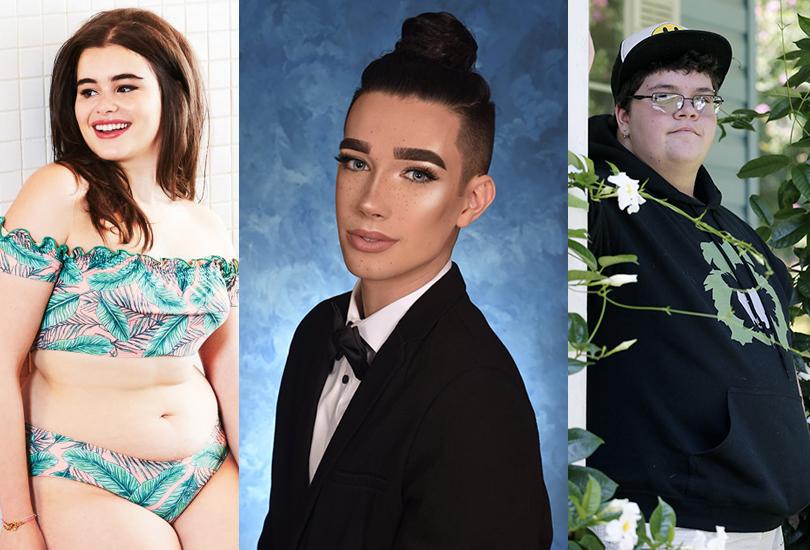Posta Kid's Club: 30самых влиятельных подростков мира поверсии Time. 19-летняя Барби Феррейра — юная модель plus-size, популяризующая идеи боди-позитива, и 17-летний Гевин Гримм, трансгендер, ставший «лицом» кампании за «туалетное равноправие», 17-летний Джеймс Чарльз, ставший первым за 50 лет «cover boy», возглавившим рекламную кампанию Cover Girl, наряду с популярной певицей Кэтти Перри