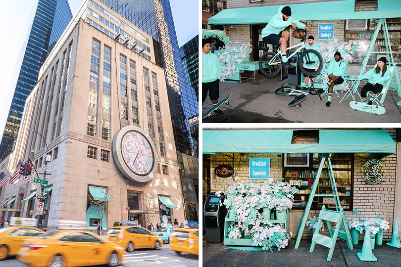 50 оттенков «Тиффани», или Зачем ювелирный дом окрасил Нью-Йорк в бирюзовый цвет