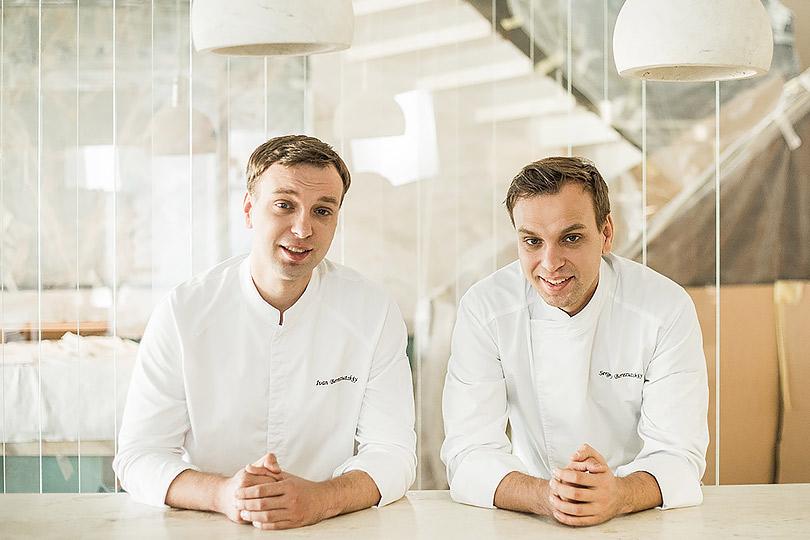 Новый ресторан: Twins Garden братьев Березуцких