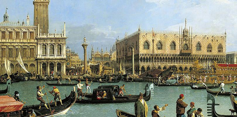 «Каналетто иискусство Венеции» Галерея королевы, Букингемский дворец, Лондон, Великобритания  11мая— 21октября